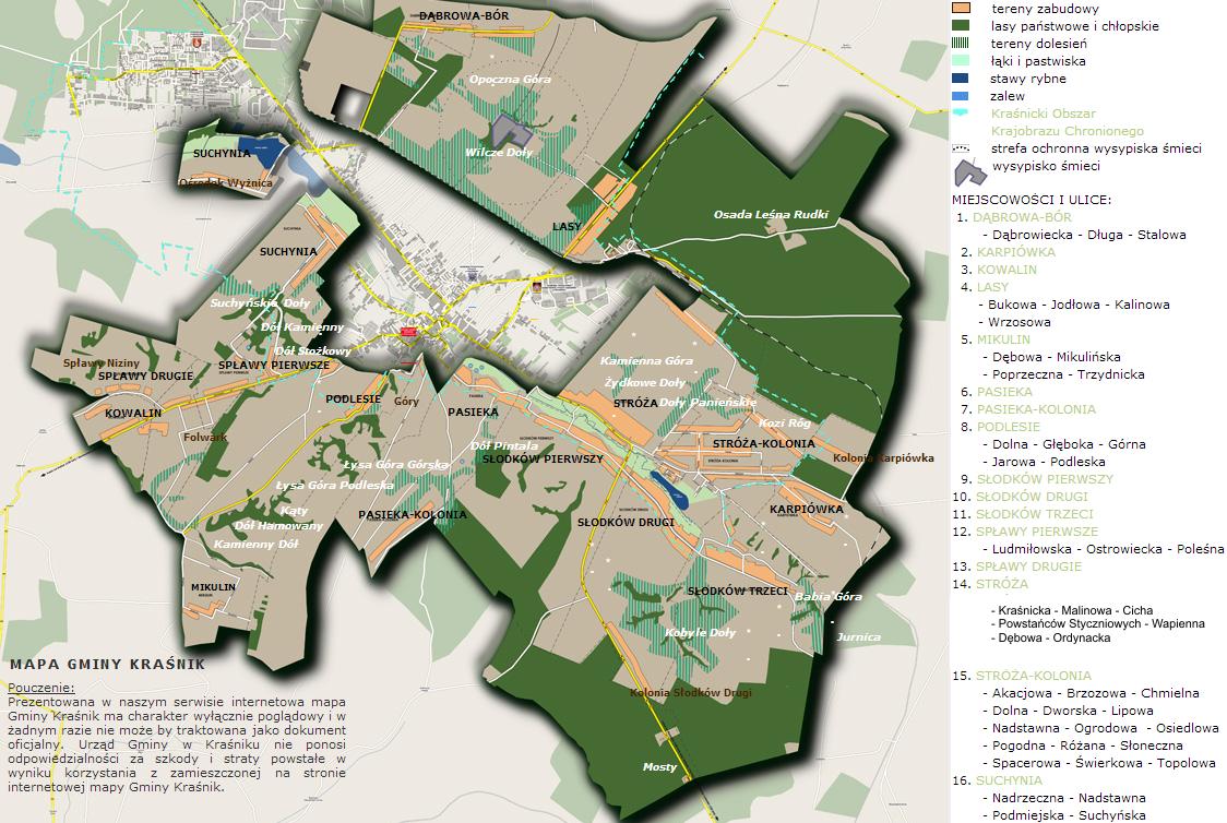 mapa gminy 2