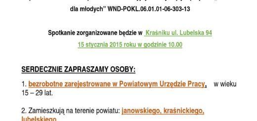 111Szansa dla młodych WND POKL.06 .01.01 06 303 13