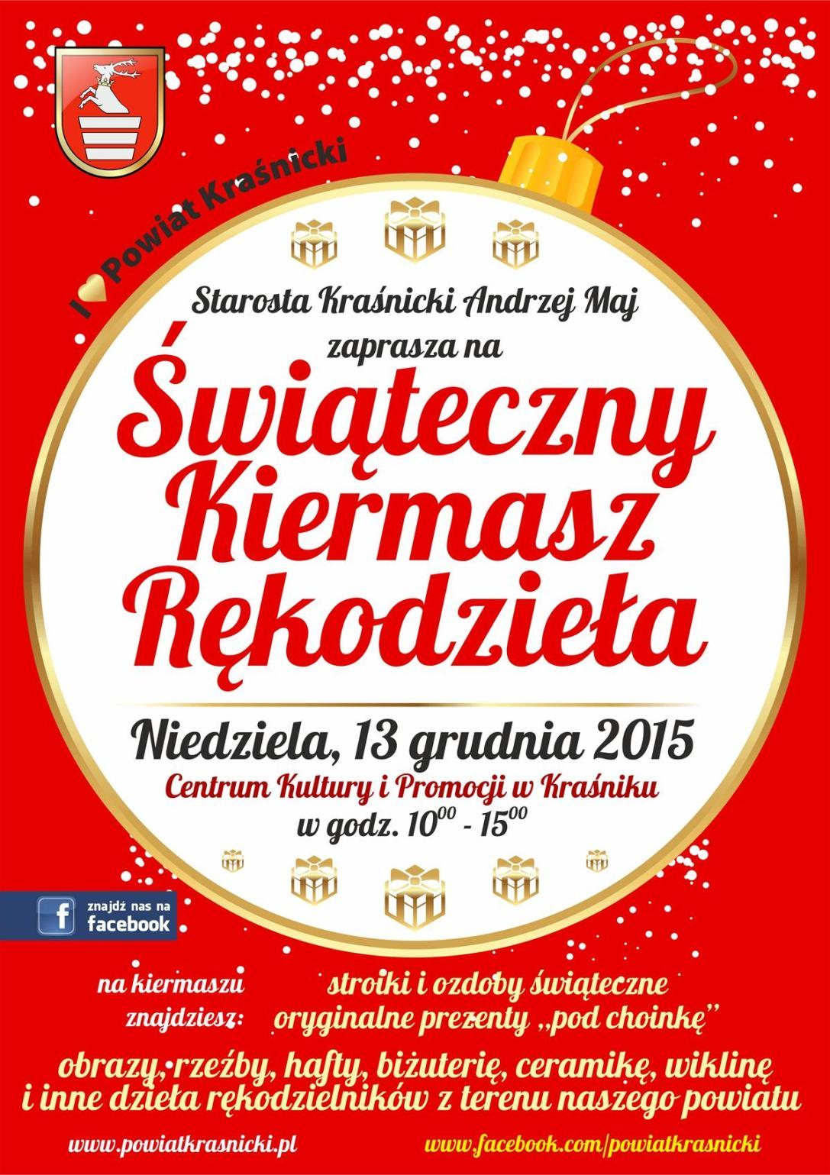 Plakat - Kiermasz 2015