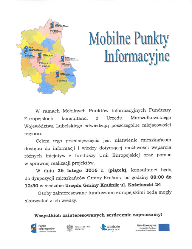 mobilny punkt doradztwa