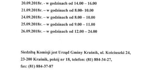 dyżury  gminnej komisji wyborczej scaled