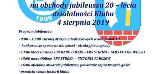 plakat LKS Stróża