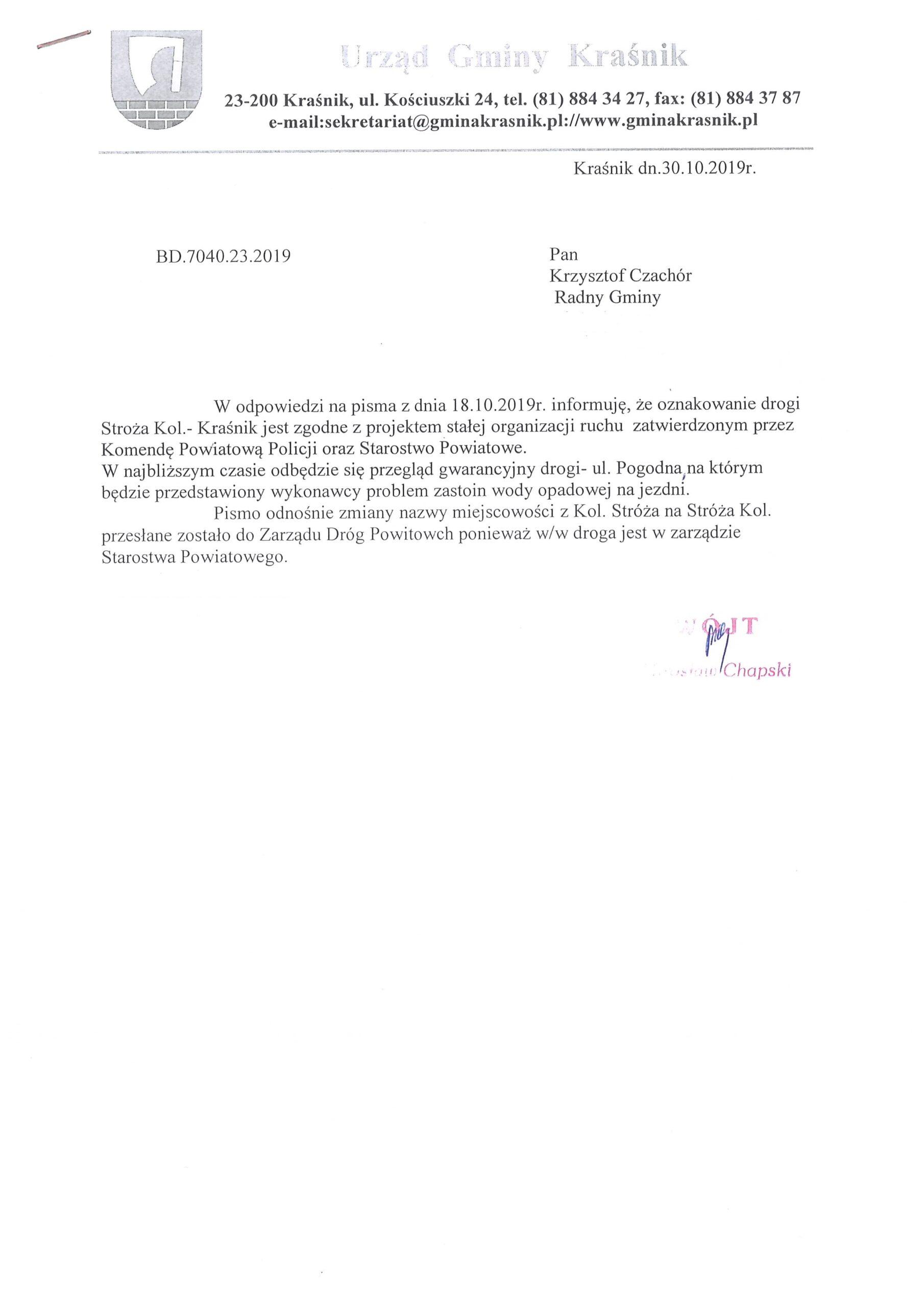 odp. int. Krzysztof Czachór scaled