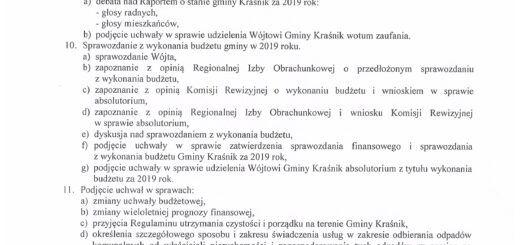 Informacja o XVII sesji Rady Gminy Kraśnik scaled