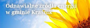 Odnawialne źródła energii w gminie Kraśnik