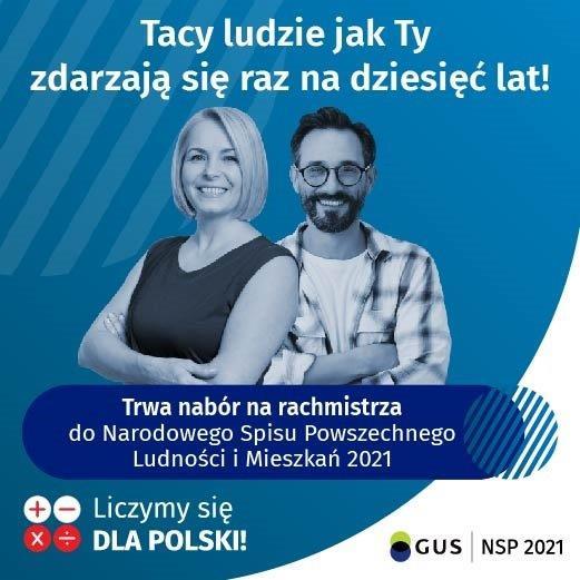 Ogłoszenie o naborze kandydatów na rachmistrzów spisowych w Gminie Kraśnik