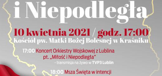 """""""Miłość i Niepodległa"""" – koncercie Orkiestry Wojskowej z Lublina"""