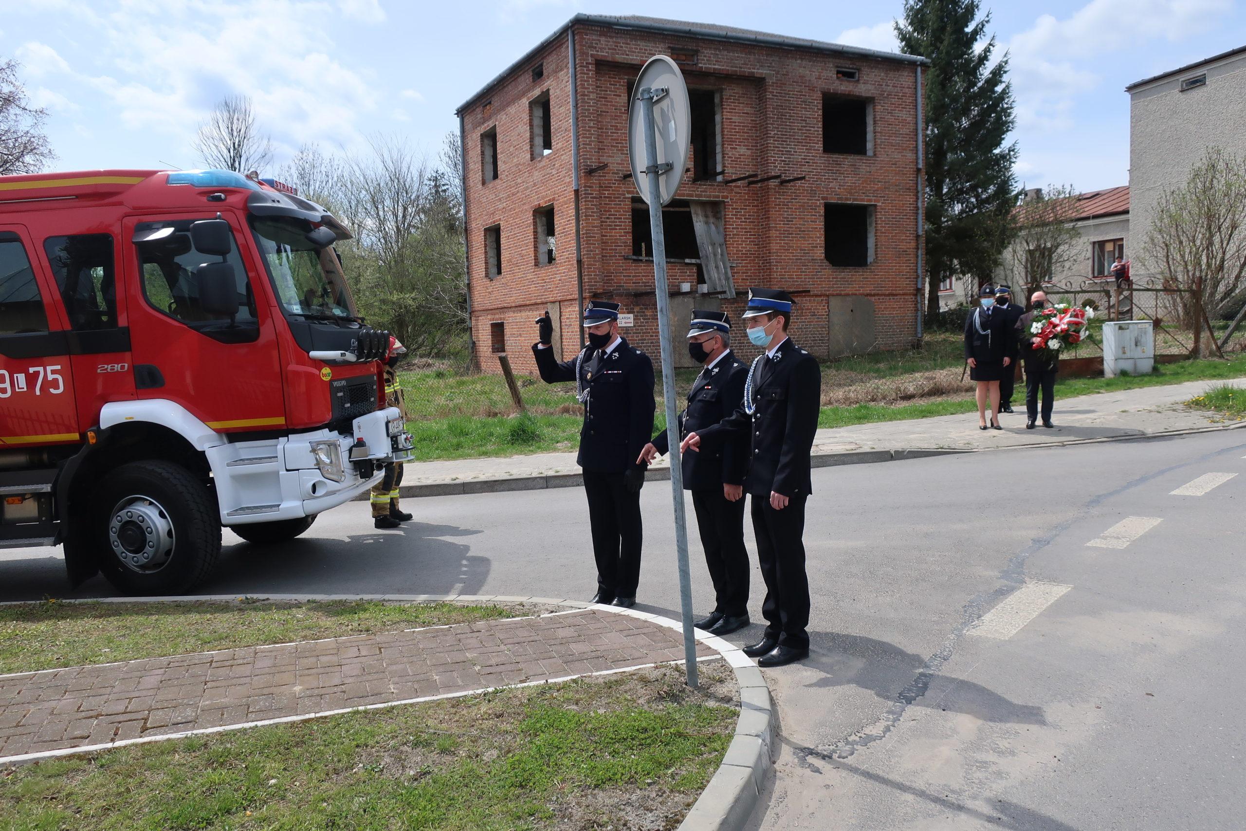 Upamiętnienie  – Międzynarodowy Dzień Strażaka.