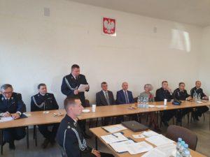 Zjazd Oddziału Miejsko-Gminnego Związku Ochotniczych Straży Pożarnych RP w Kraśniku